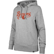 '47 Women's Cleveland Browns Headline Grey Hoodie