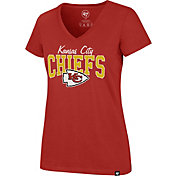 '47 Women's Kansas City Chiefs Rival Red V-Neck T-Shirt