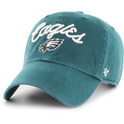 '47 Women's Philadelphia Eagles Meldy Green Clean Up Adjustable Hat