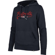 '47 Women's New England Patriots Headline Navy Hoodie