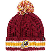 '47 Women's Washington Redskins Sorority Red Cuffed Pom Knit