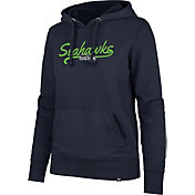'47 Women's Seattle Seahawks Headline Navy Hoodie