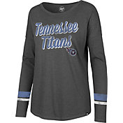 '47 Women's Tennessee Titans Courtside Grey Long Sleeve Shirt