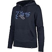 '47 Women's Tennessee Titans Headline Navy Hoodie