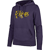 '47 Women's Minnesota Vikings Headline Purple Hoodie