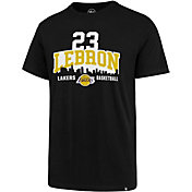 '47 Men's Los Angeles Lakers LeBron Logo Black T-Shirt