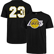 '47 Men's Los Angeles Lakers LeBron James #23 Black T-Shirt