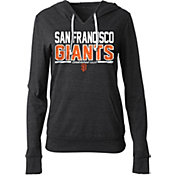 New Era Women's San Francisco Giants Tri-Blend Pullover Hoodie