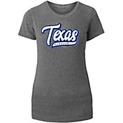 New Era Women's Texas Rangers Grey Tri-Blend T-Shirt