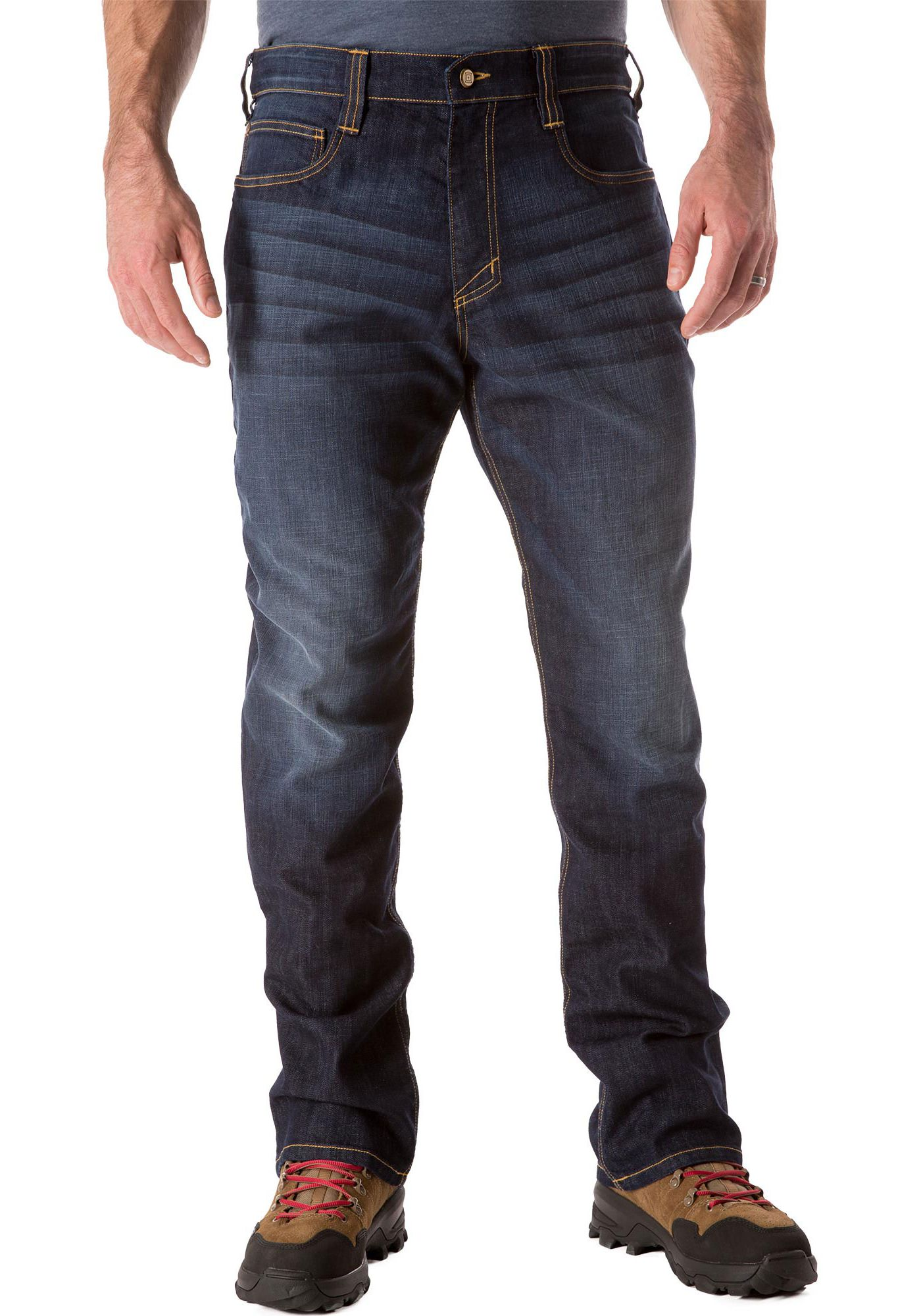 5.11 Men's Defender-Flex Straight Leg Jeans