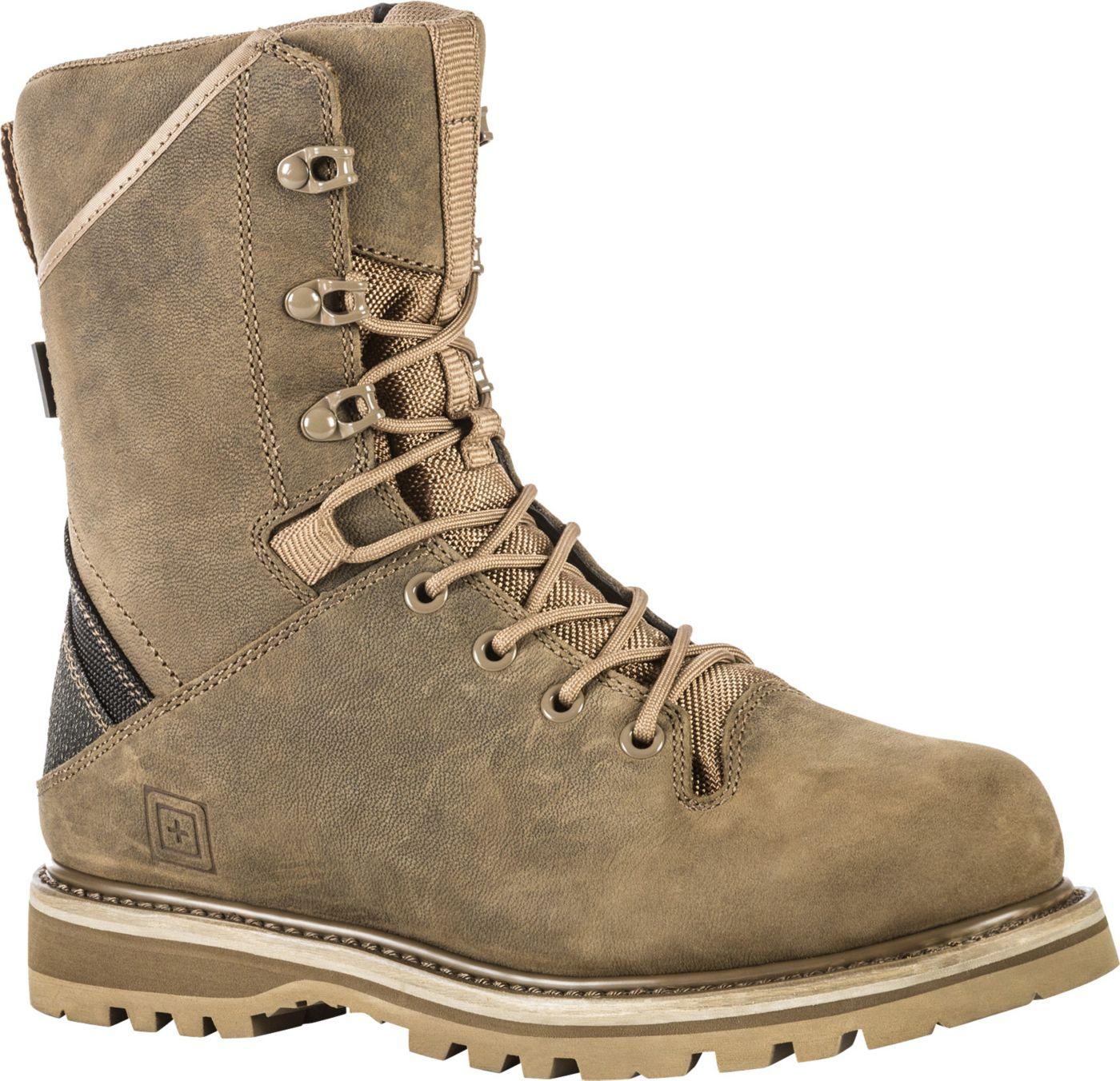 5.11 Tactical Men's Apex 8'' Waterproof Tactical Boots