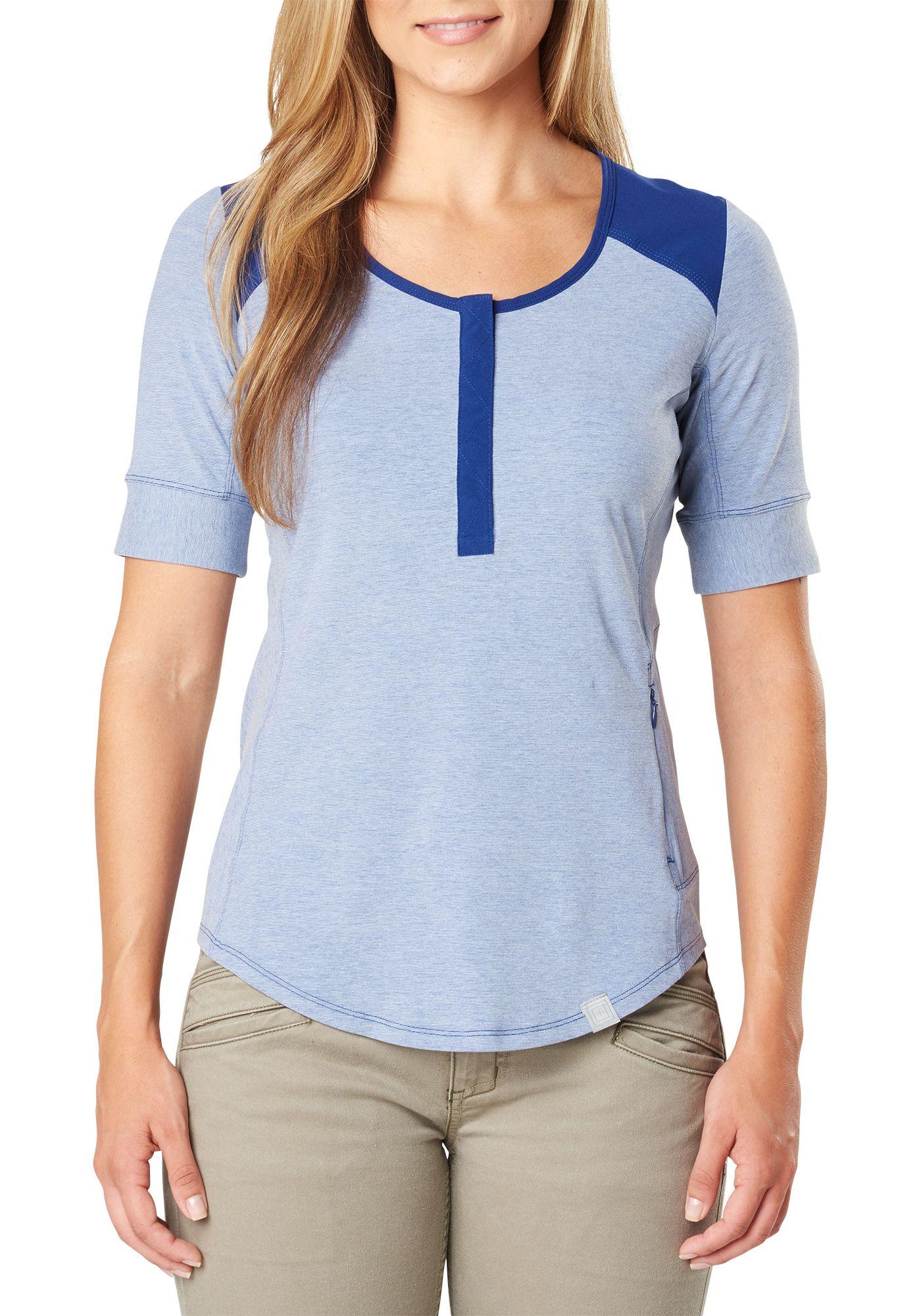 5.11 Tactical Women's Willow Henley Short Sleeve Shirt