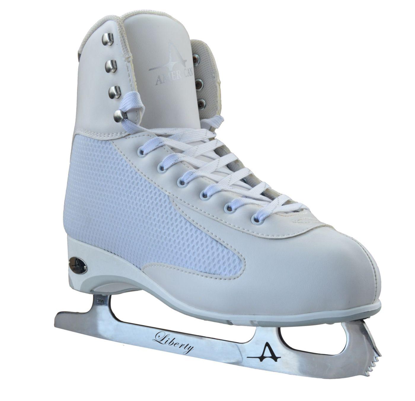 American Athletic Shoe Women's WHITE ICE Figure Skates