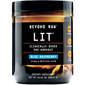 GNC Beyond Raw LIT Pre-Workout Blue Raspberry 30 Servings