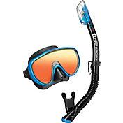 TUSA Sport Adult Serene Mirror Snorkel Combo Set