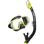 TUSA Sport Adult Visio Tri-Ex Snorkel Combo