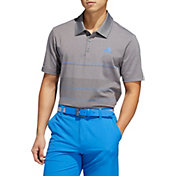 adidas Men's Ultimate365 Heather Gradient Stripe Golf Polo