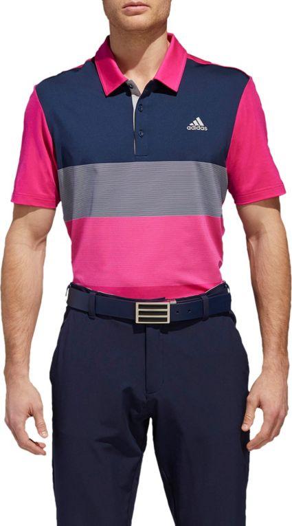 adidas Men's Ultimate365 Colorblock Golf Polo