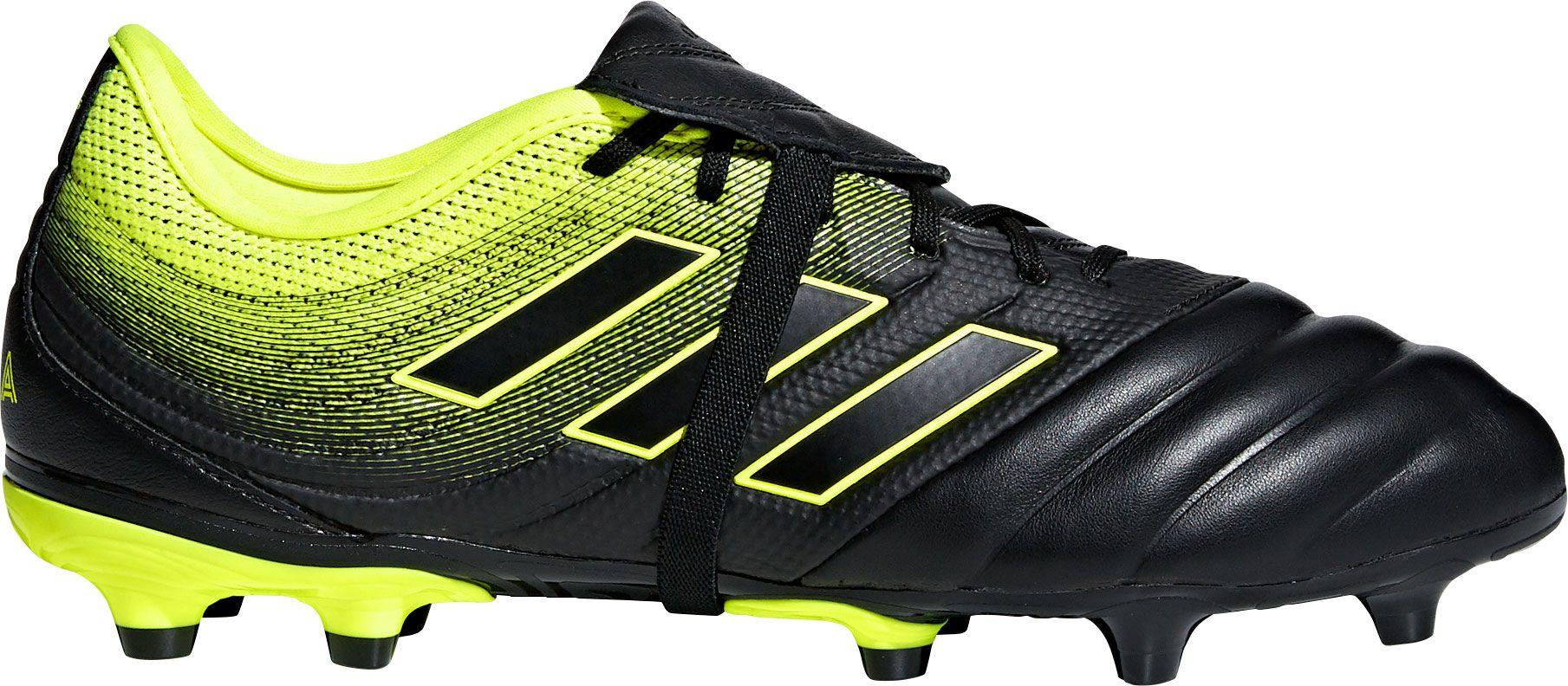 adidas Men's Copa Gloro 19.2 FG Soccer Cleats, Size: 7.5, Black