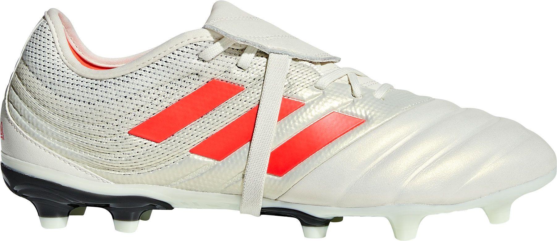 adidas Men's Copa Gloro 19.2 FG Soccer Cleats, Size: 7.0, White