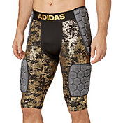 adidas Adult Techfit Gold Foil 5-Pad Football Girdle
