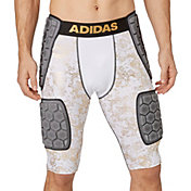 adidas Adult techfit® Gold Foil 5-Pad Football Girdle