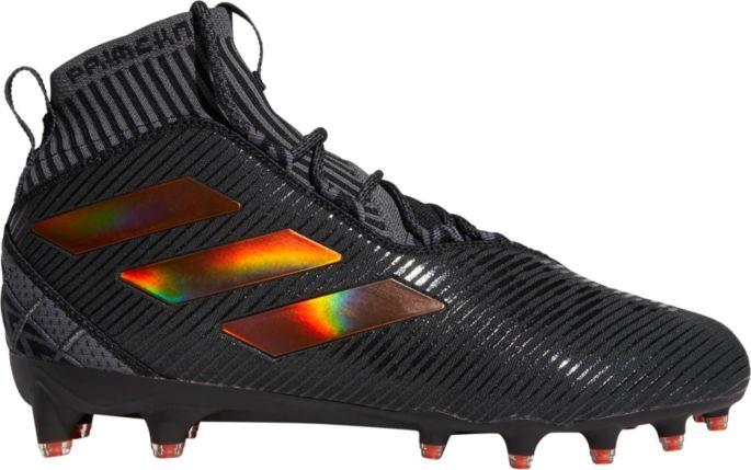 adidas football cleats orange and black