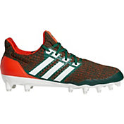 adidas Men's Ultra Boost Miami Hurricanes Football Cleats
