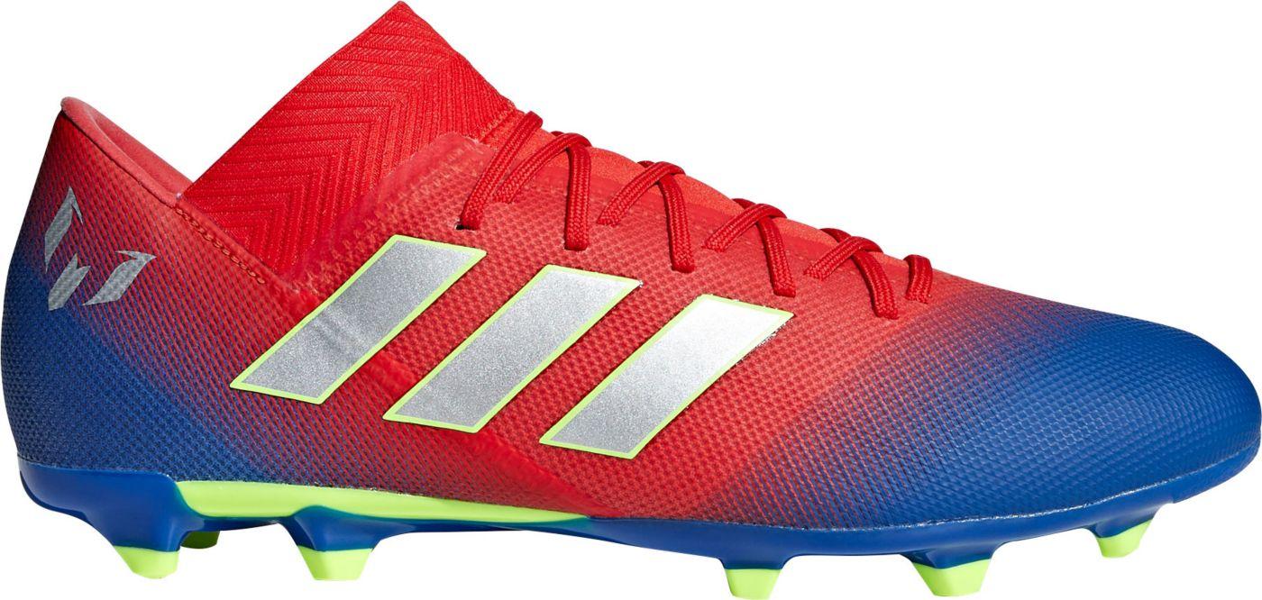 adidas Men's Nemeziz Messi 18.3 FG Soccer Cleats