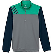 adidas Boys' Stripe Layering Golf Jacket