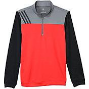 adidas Boys' Stripe Layering Golf Jacket
