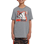 adidas Boys' Collage Mantra T-Shirt
