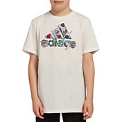 adidas Boys' Icon Badge Of Sports Graphic T-Shirt
