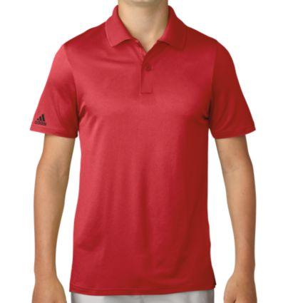 adidas Boys' Performance Golf Polo