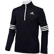 adidas Boys' Pursuit Half Zip Long Sleeve Shirt