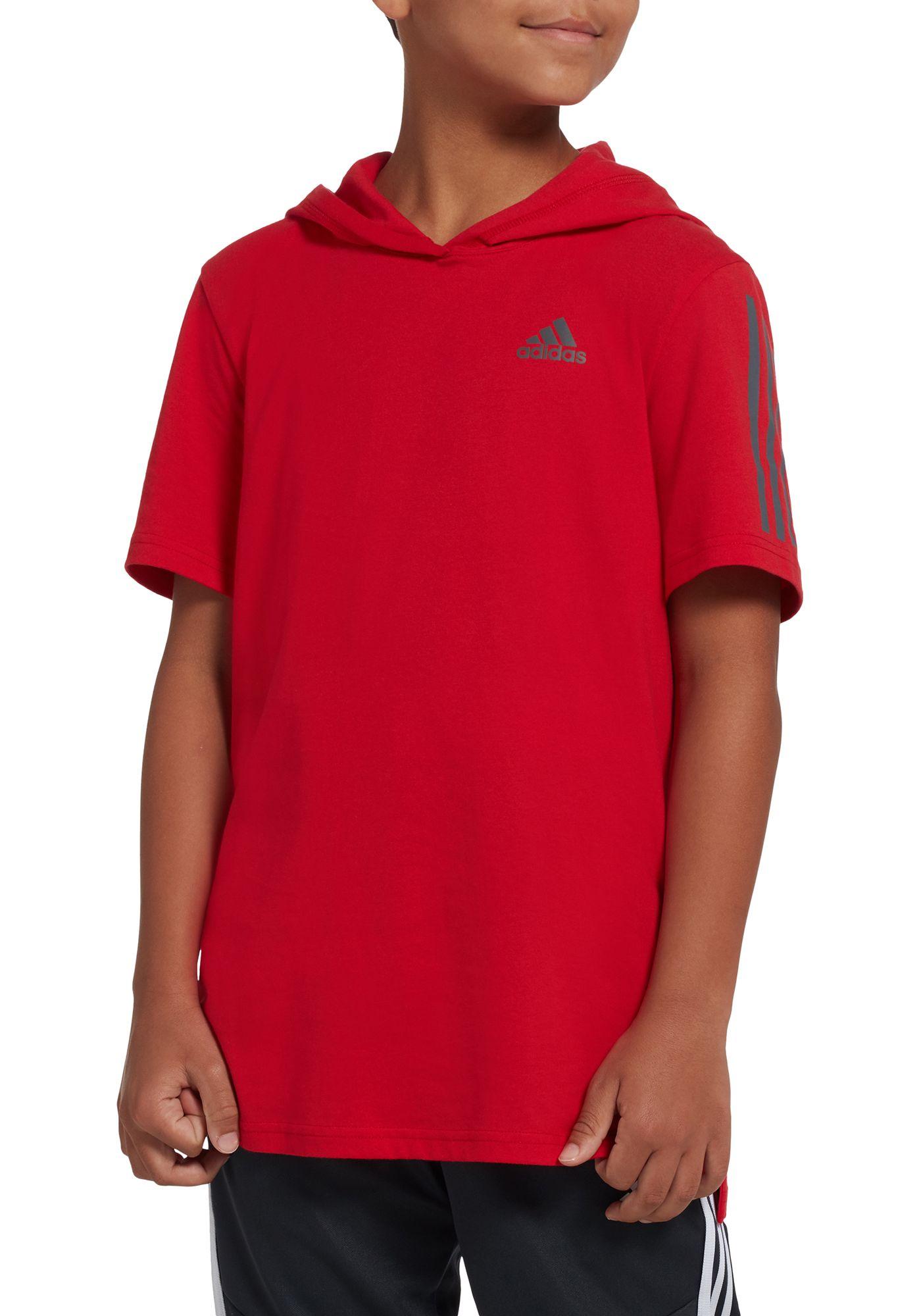 adidas Boys' Transition Hooded T-Shirt
