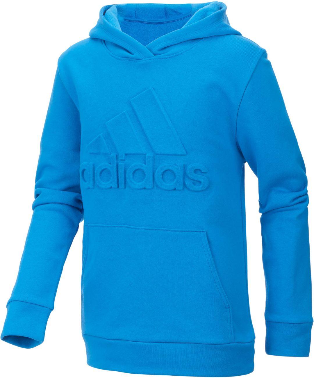 8cc2a5b7891b adidas Boys' Exclusive Embossed Logo Hoodie