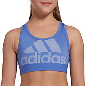 adidas Girls' Don't Rest Logo Sports Bra