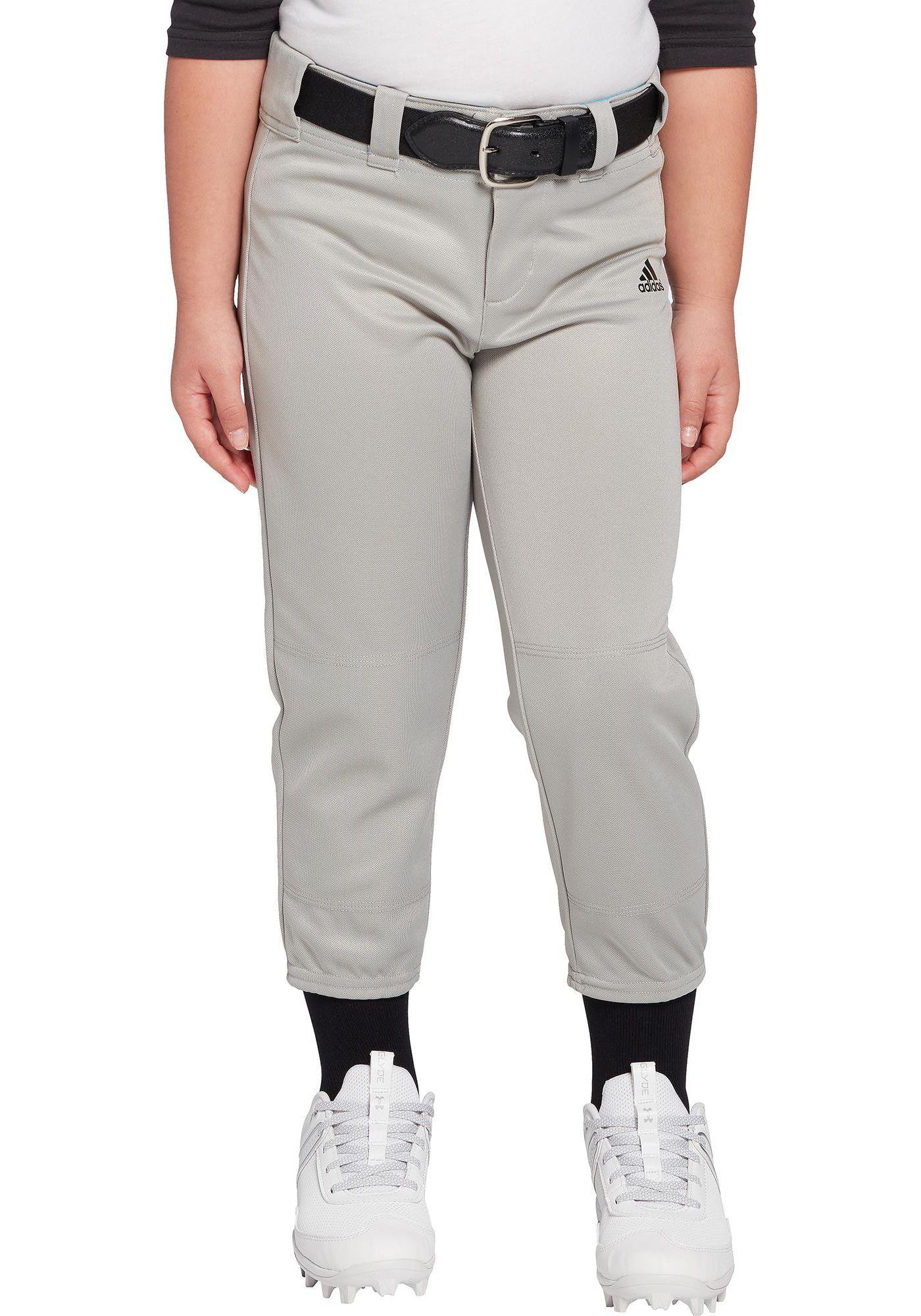 adidas Girls' Destiny Softball Pants