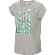 adidas Girls' Goals Raglan T-Shirt