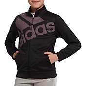 adidas Girls' Logo Tricot Jacket