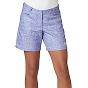 adidas Girls' Printed Golf Shorts