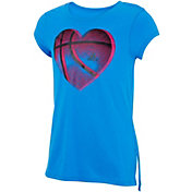 adidas Girls Lapped Side Seam T-Shirt