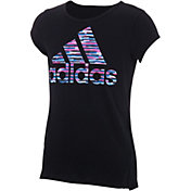 adidas Girls' Vented Graphic T-Shirt