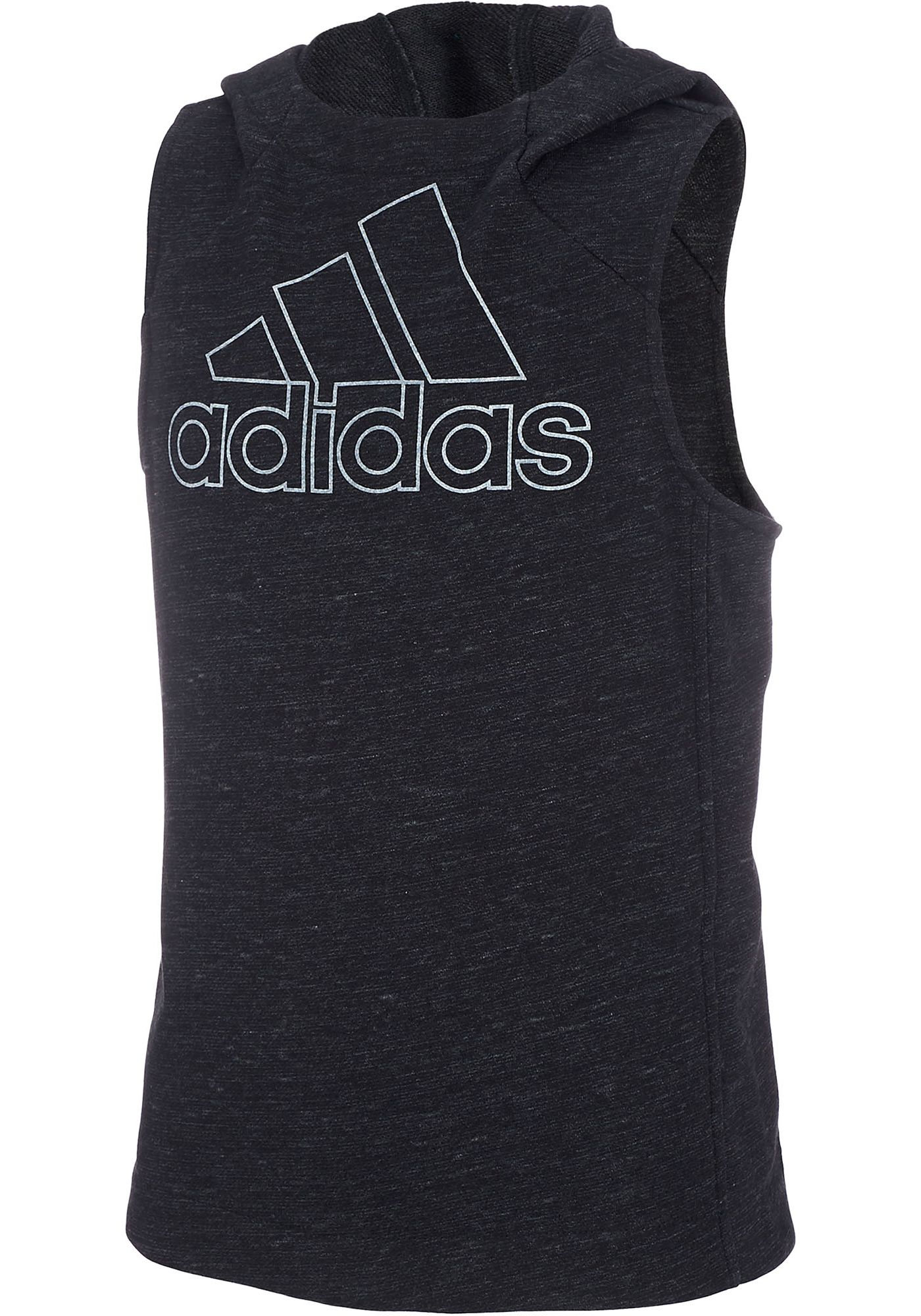 adidas Girls' Transition Sleeveless Hoodie