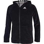 adidas Girls' Velour Jacket