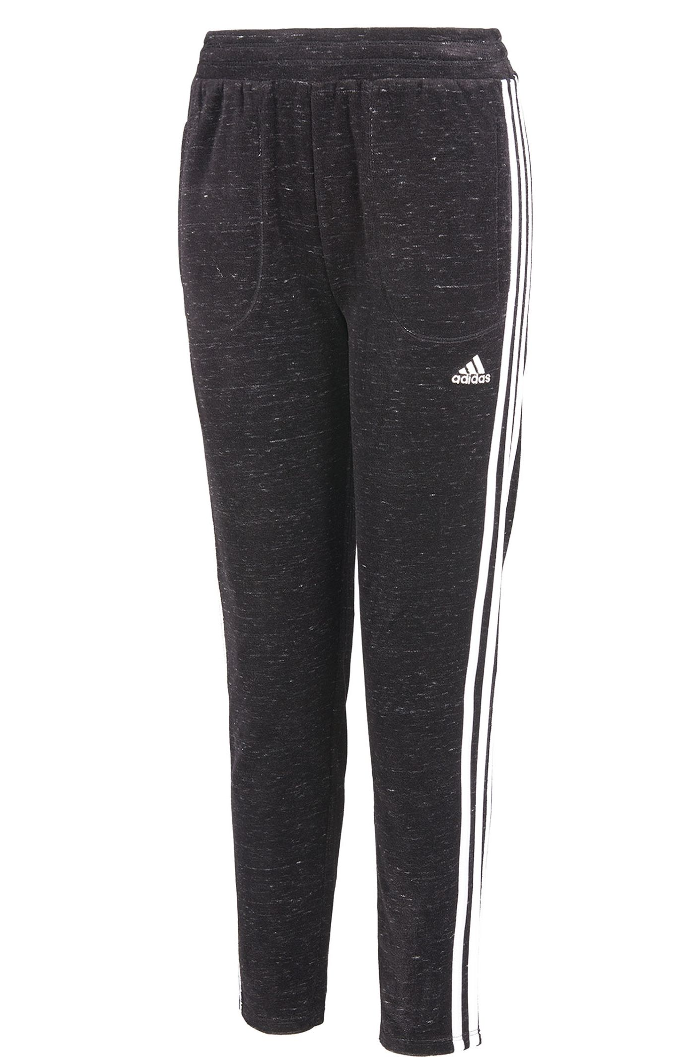 adidas Girls' Velour Tapered Pants