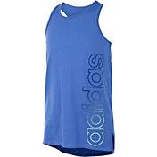 adidas Girls' Vented Graphic Tank Top