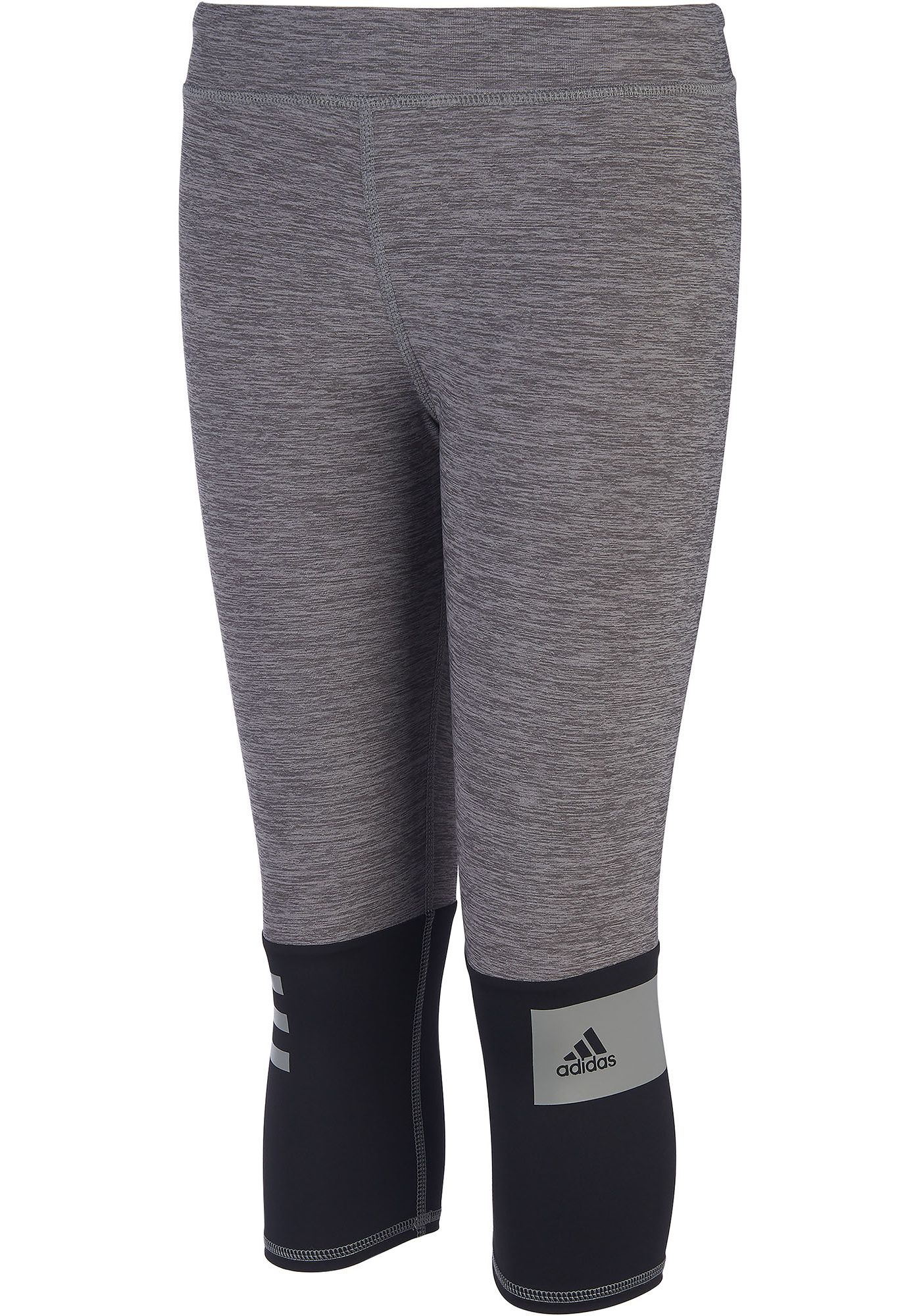 adidas Girls' Heather Capris