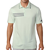 adidas Men's 3-Stripes Pique Golf Polo